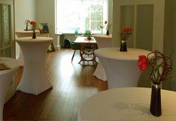 Catering und Partyservice für einen Stehempfang