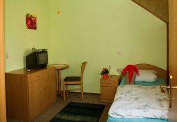 Vermietung von Einzelzimmer im Hotelstandard