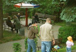 Park mit kurzweiligen Freizeitangeboten für alle Familienmitglieder