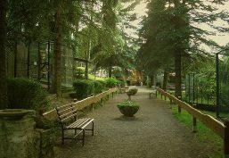 Park für ausgiebige Auszeit zur Erholung und Entspannung