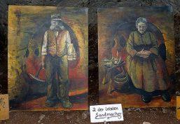 Die zwei letzten Sandmacher der Walldorfer Sandsteinhöhle