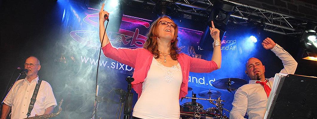Vergangene Veranstaltungen mit der Liveband Sixback im Kressehof Walldorf!