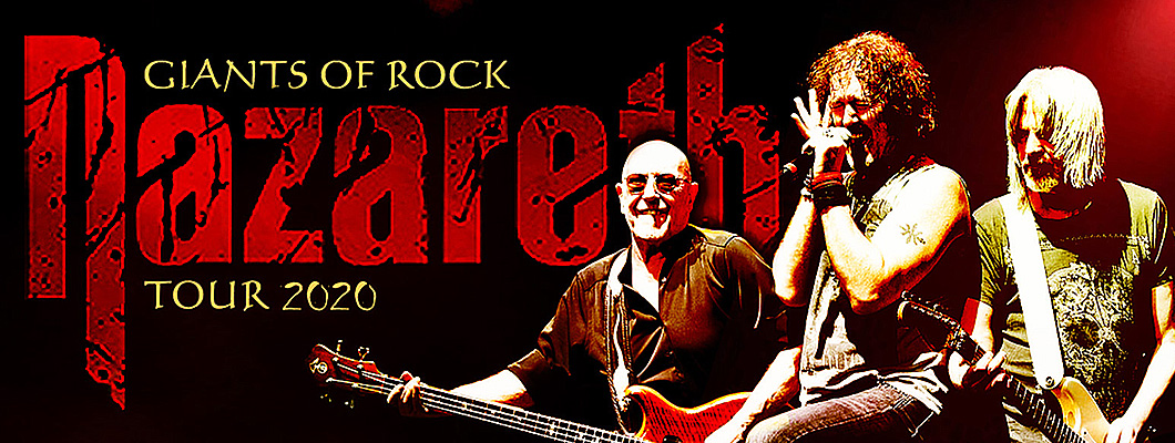 Volkshaus Veranstaltung Giants of Rock Tour mit Nazareth in Meiningen!
